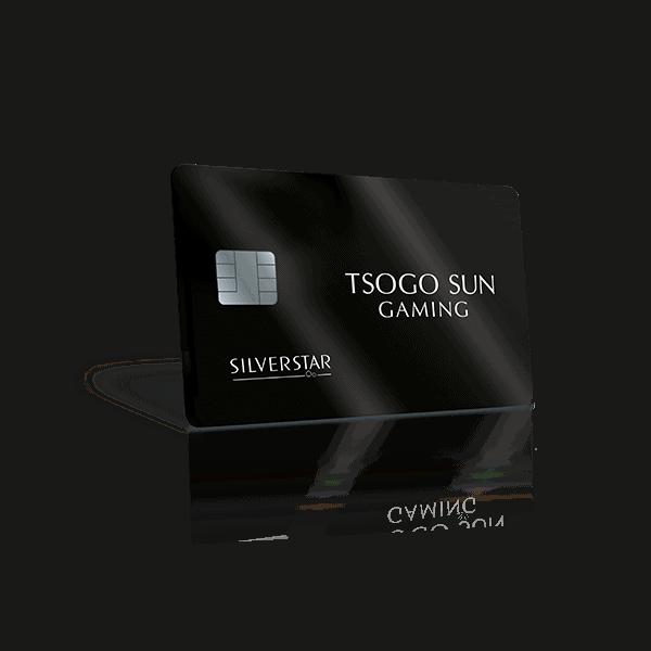 Silverstar New Black Rewards cards
