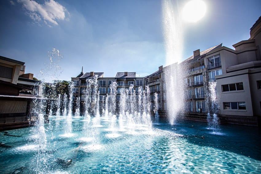 Silverstar Casino waterworks