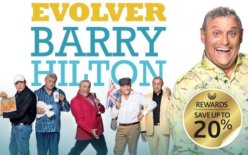 Evolver Barry Hilton event