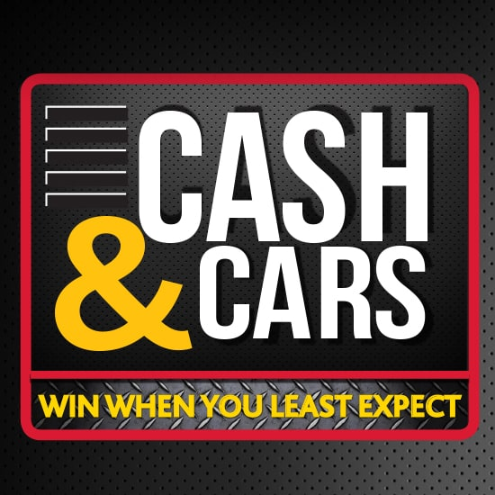 Cash and Cars gaming promotion at Silverstar Casino