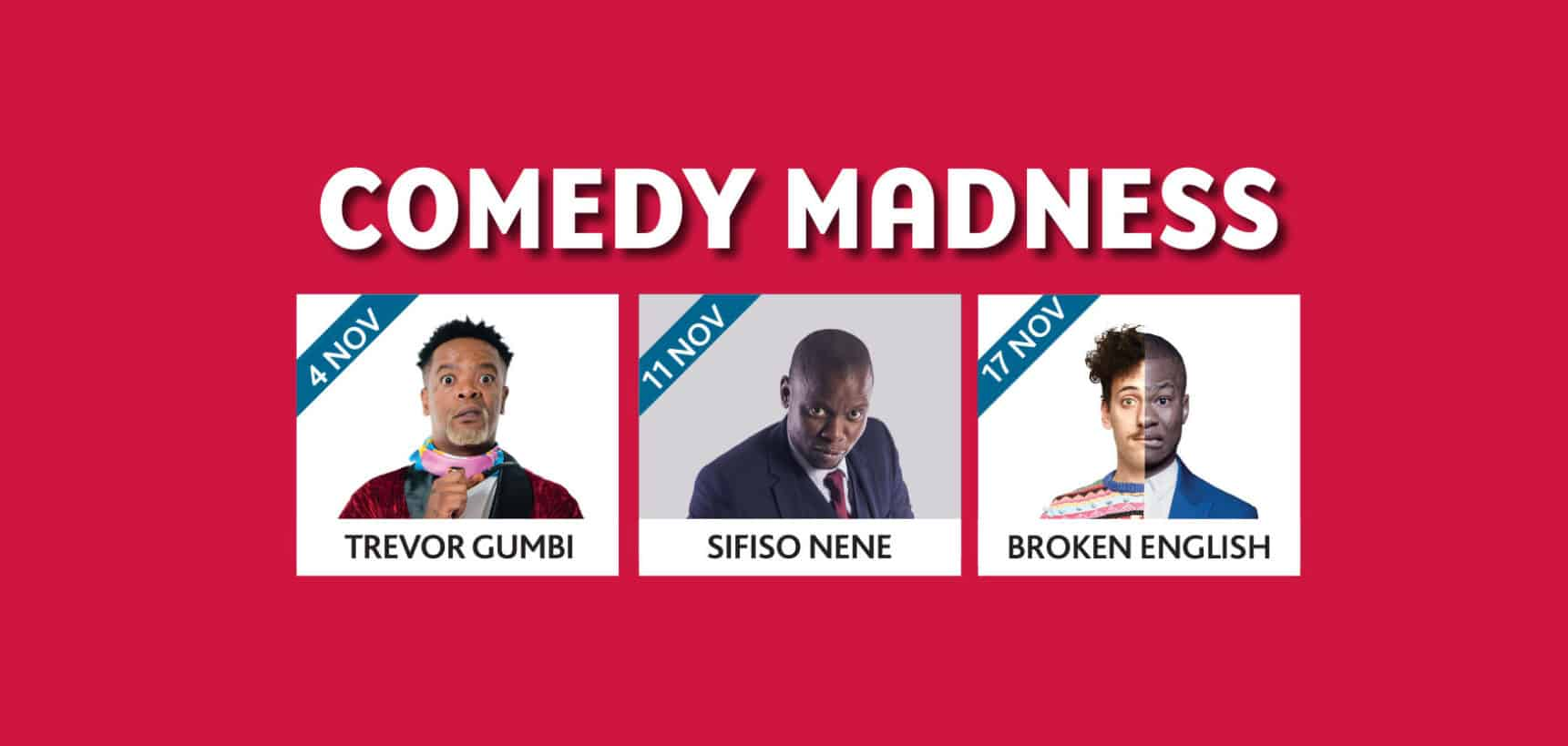 Comedy Madness event at Silverstar Casino