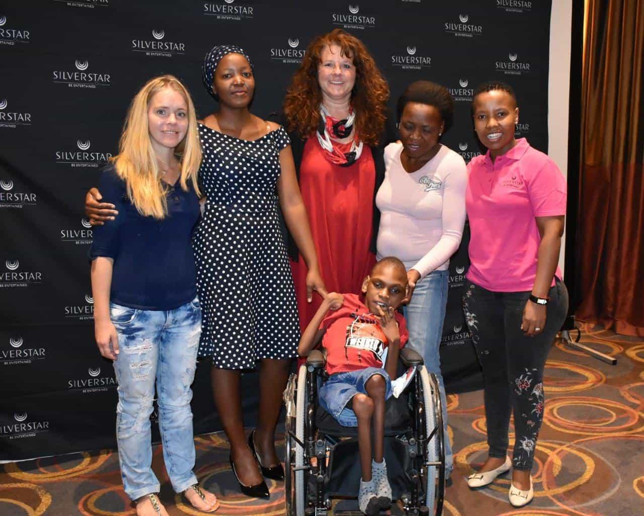 Silverstar volunteers and Yamkela Luphepha