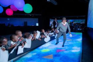 Kagiso Children dancing at Future Park at Silverstar casino