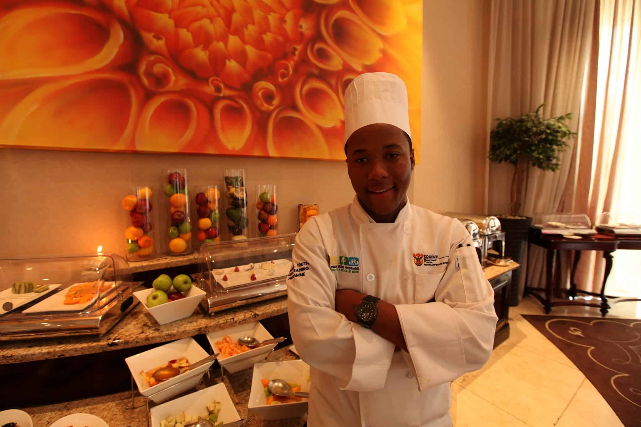 Luxolo Tabata - Young Chefs at Silverstar casino