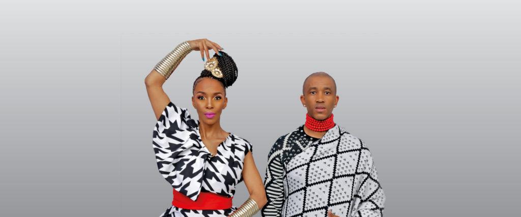Mafikizolo dress in black and white