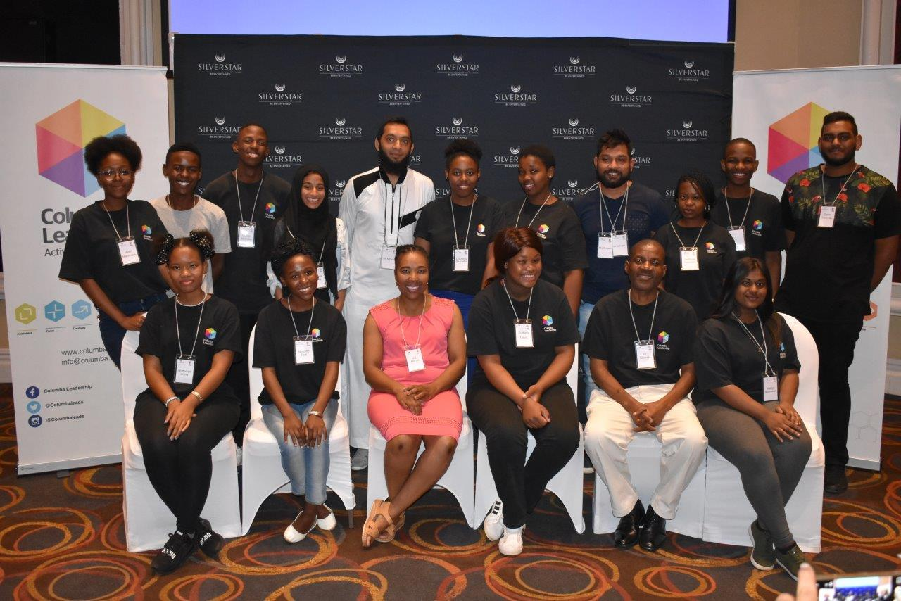 Students from the Columbia Learning Programme Silverstar Casino