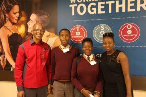 Students job shadowing at Silverstar Casino