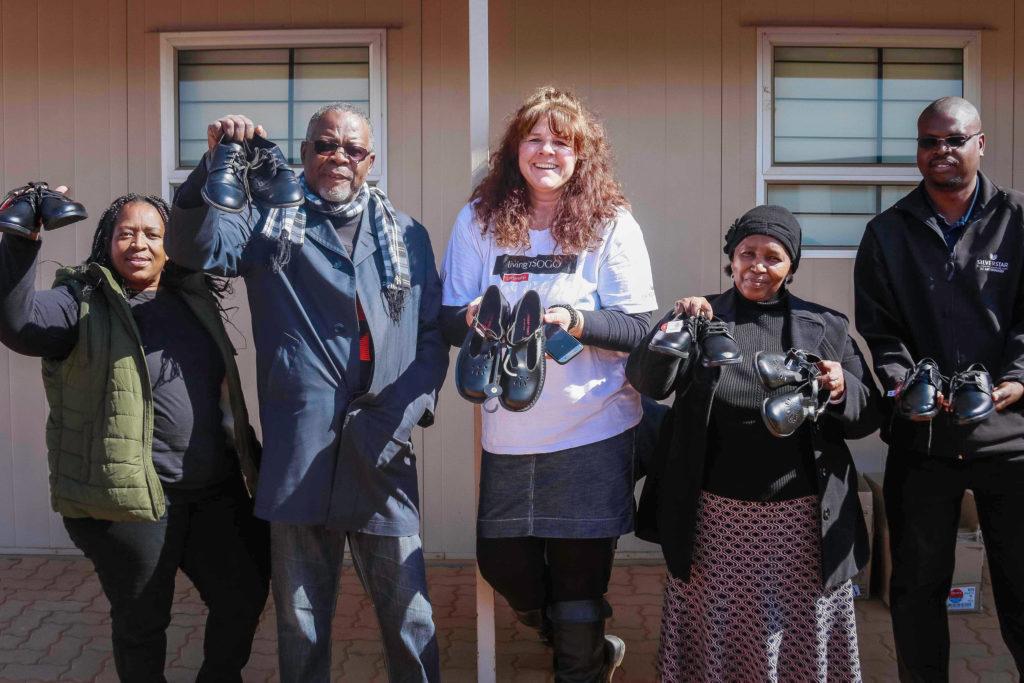 Silverstar Casino Staff Share School Shoes to the Diepsloot High School learners