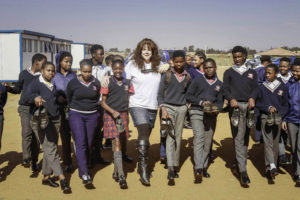 Silverstar Casino Staff Share School Shoes to the Diepsloot High School learners