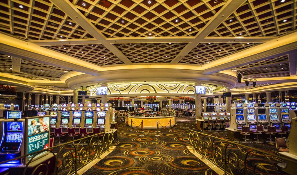 Silverstar's main casino floor area