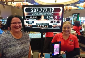 Maria du Toit the winner of Silverstar casino's Four of Kind