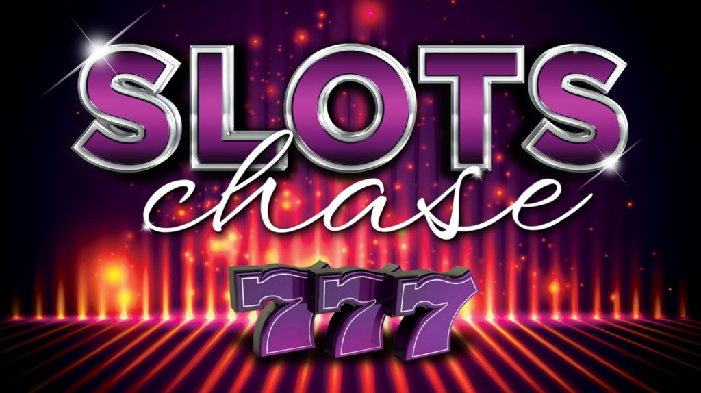 Slots Chase 777 gaming promotion poster