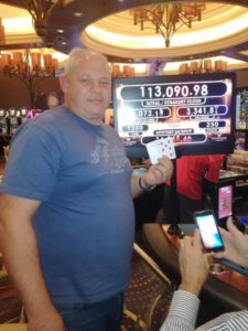 Corny van der Merwe winner of the Straight Flush
