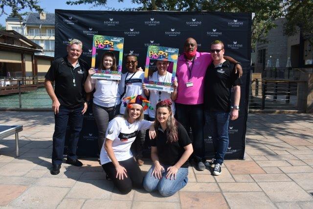 Volunteers and Donators Silverstar Casino's CANSA Shavathon 2019