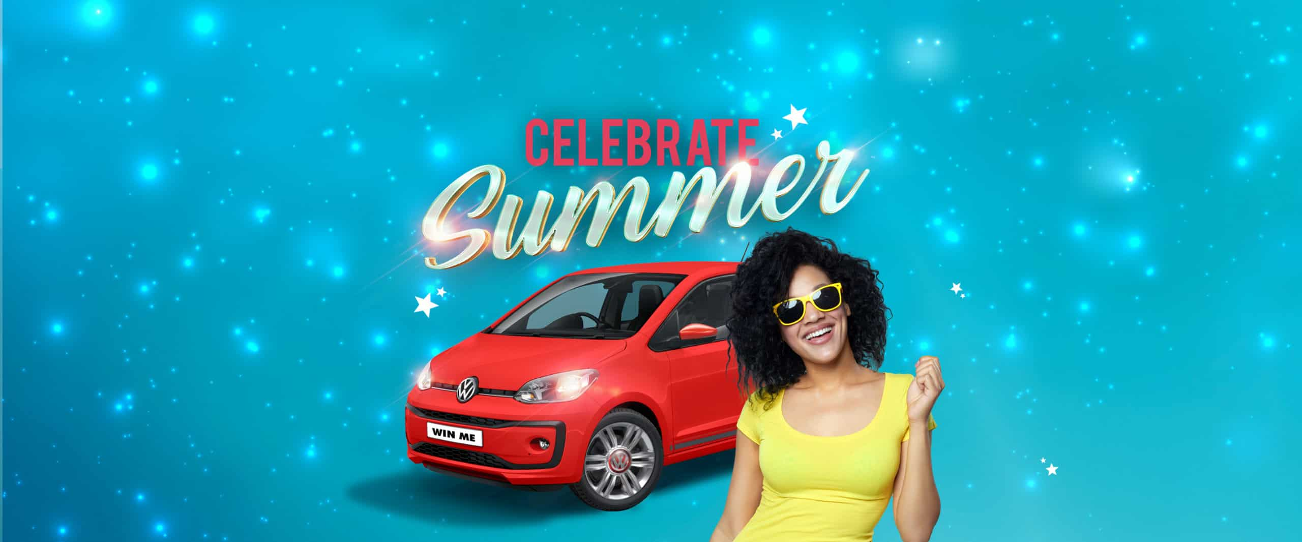 Celebrate Summer gaming promotion banner for Silverstar casino