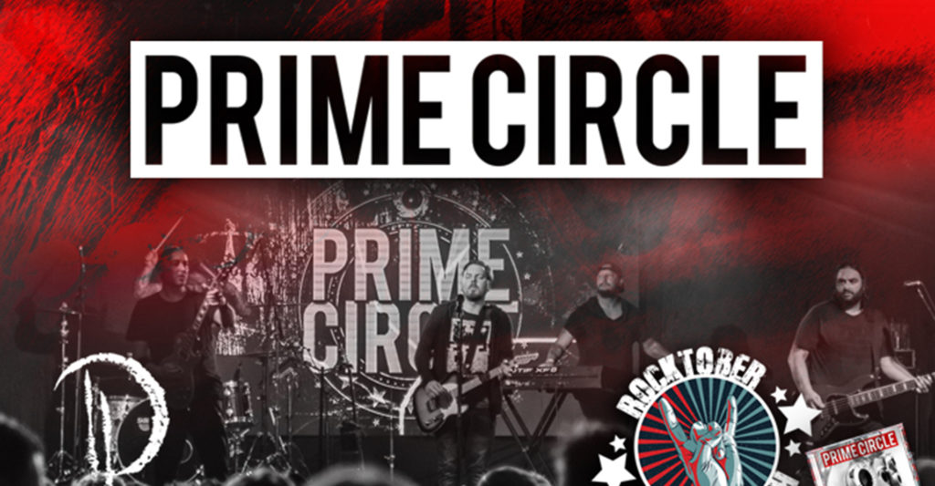 Prime Circle performing on stage for Rocktober