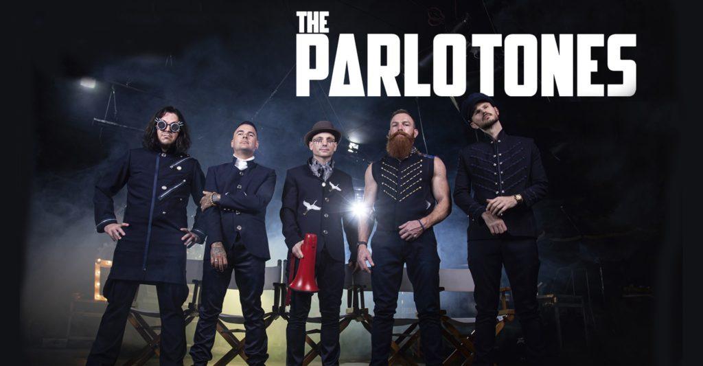 The Parlotones header banner